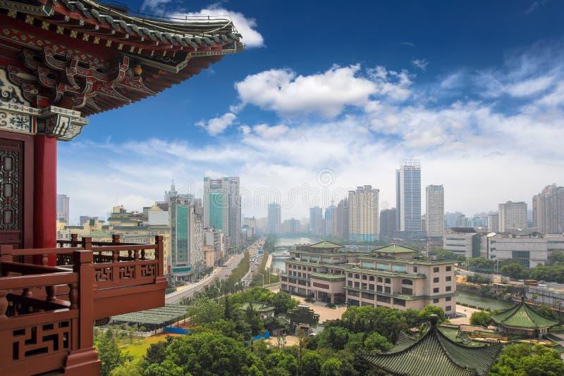 Paysage de Nan-Tchang images stock