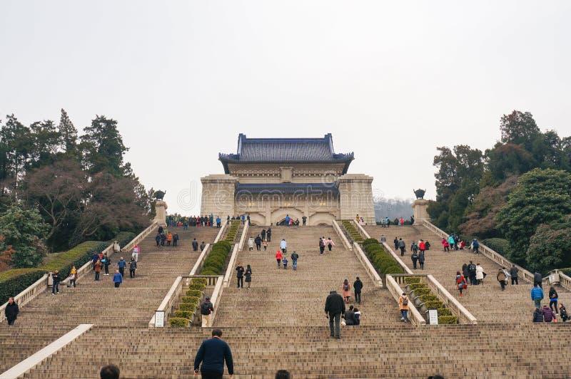 Paysage de Nanjing photo stock