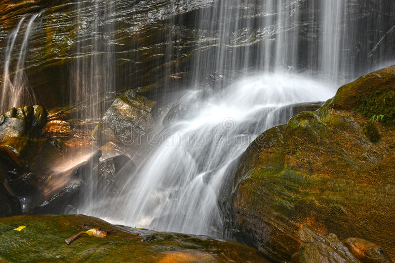 Paysage de nature de cascades photos libres de droits