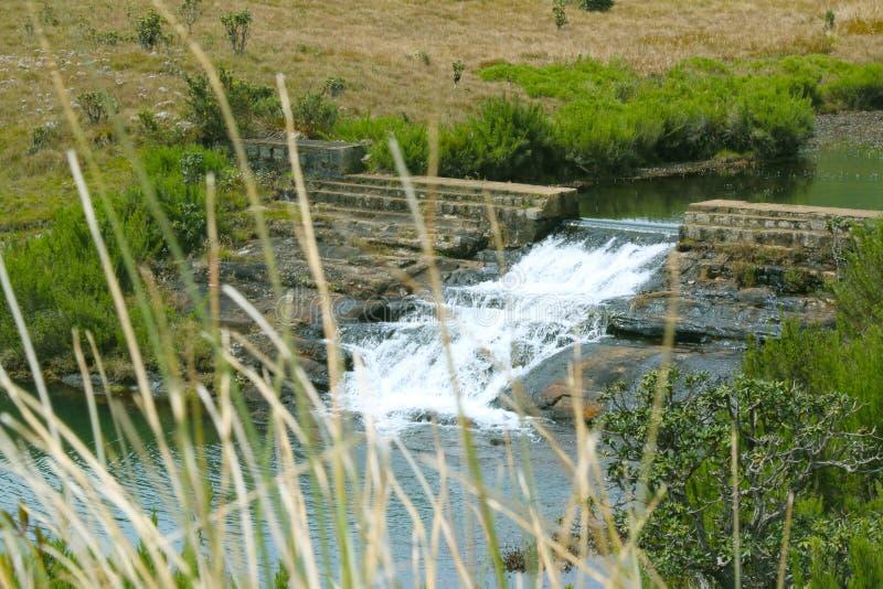 Paysage de nature, lac avec le beau fond photo libre de droits