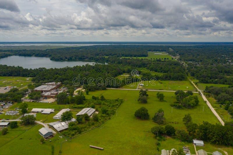 Paysage de nature près de Gainesville FL photos stock