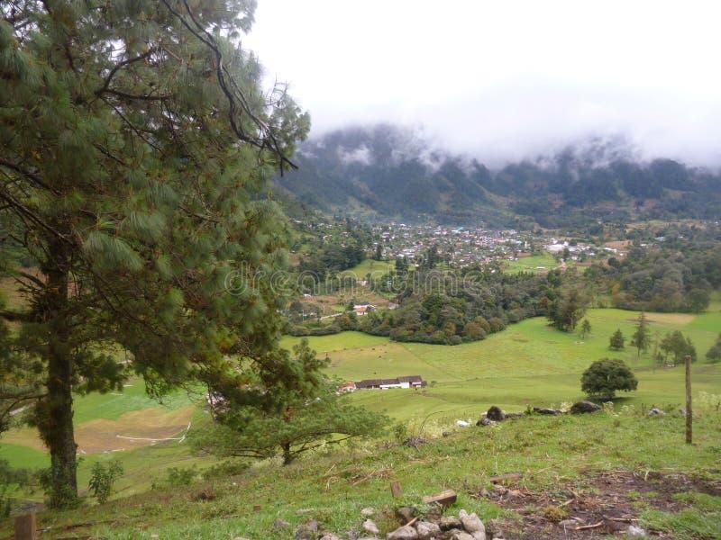 Paysage de Nebaj, quiche, Guatemala photographie stock