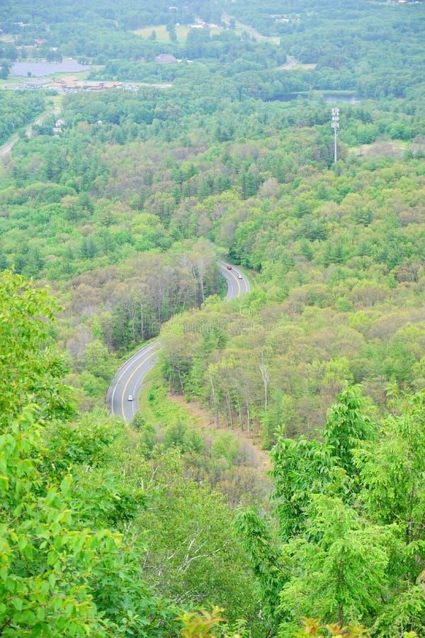 Paysage de parc d'état de chaîne du Mont Holyoke photo libre de droits