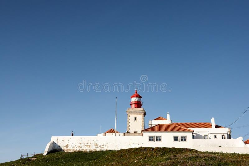 Paysage de phare de Cabo DA Roca Portugal La plupart de weste photos libres de droits