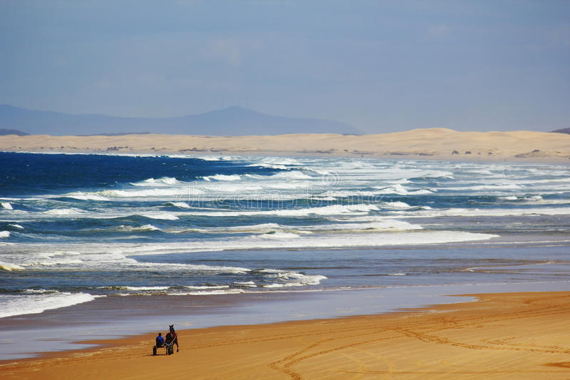 Paysage de plage de dunes de sable photo libre de droits
