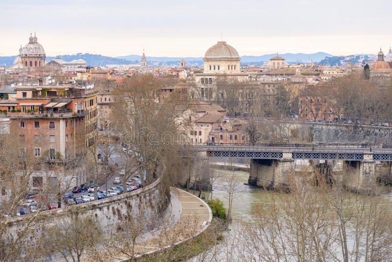 Paysage de Rome photos stock