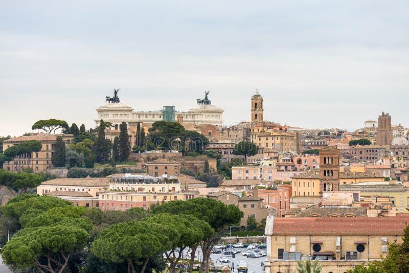 Paysage de Rome image stock