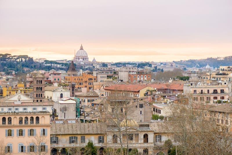 Paysage de Rome photos libres de droits