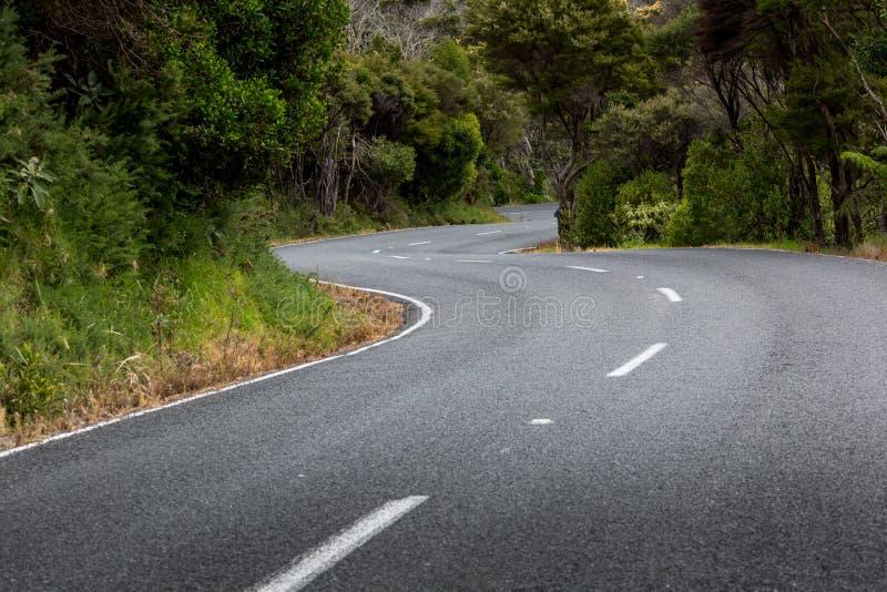 Paysage de Russell près de Paihia, baie des îles, Nouvelle-Zélande photos stock