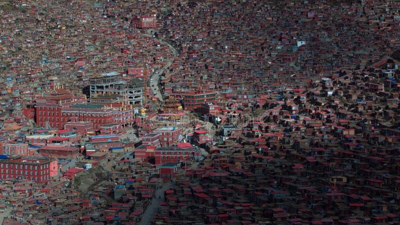 Paysage de Sedah dans Ganzi, Sichuan, Chine photo libre de droits