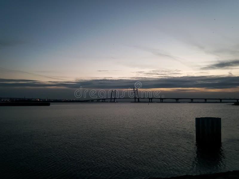 Paysage de St Petersburg photographie stock libre de droits