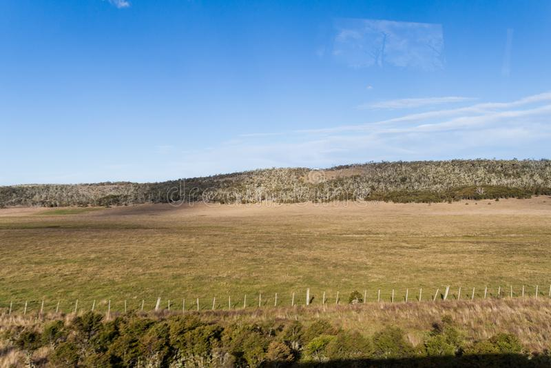 Paysage de Tierra del Fuego, Argenti image stock