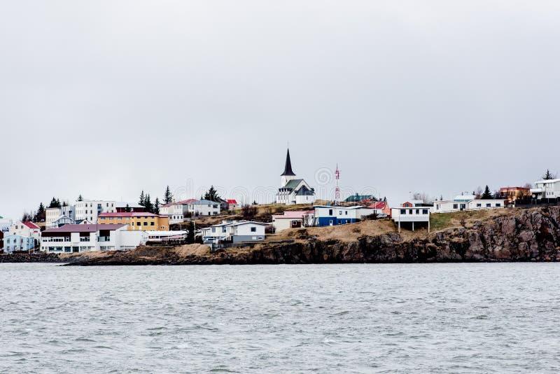 Paysage de ville islandaise photo libre de droits