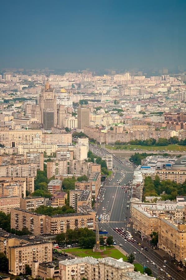 Paysage de ville de Moscou photo libre de droits