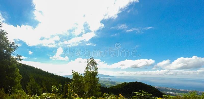 Paysage des Açores image stock