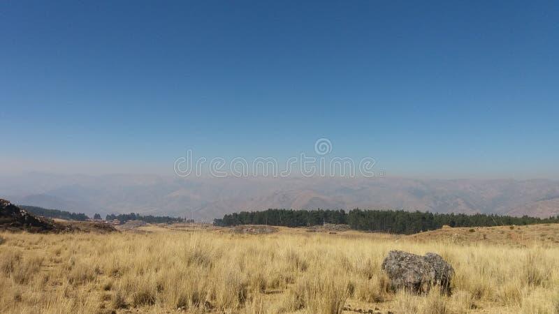 paysage des Andes péruviens images stock