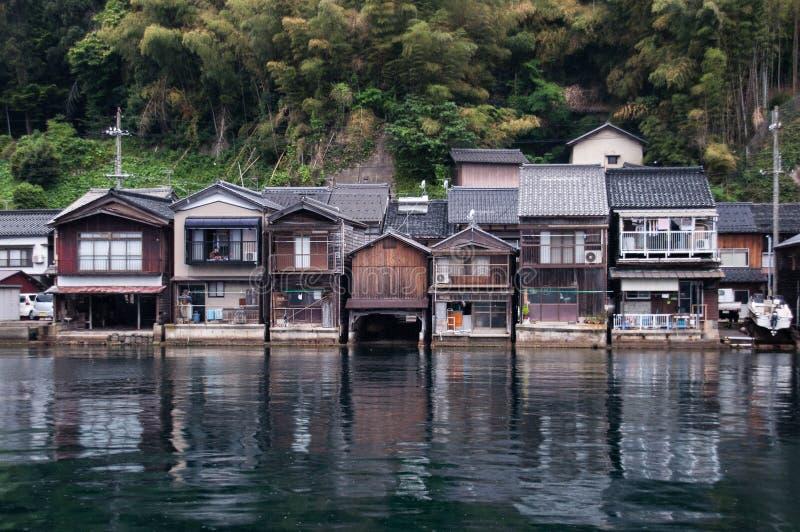 Paysage des bâtiments chez Ine images stock