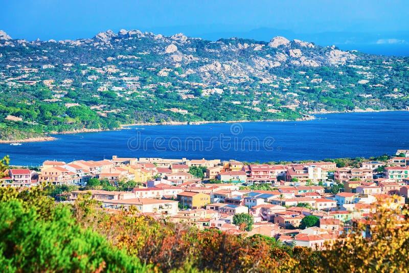 Paysage des Palaos Maddalena Island Sardinia photos libres de droits