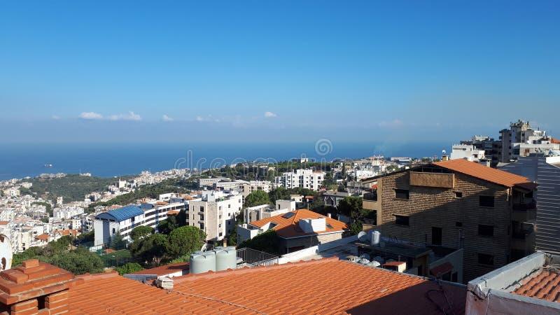 Paysage du Liban images libres de droits