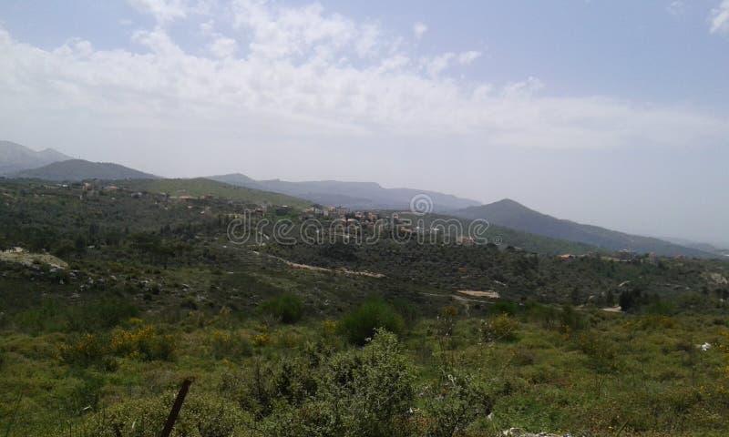 Paysage du Liban images stock