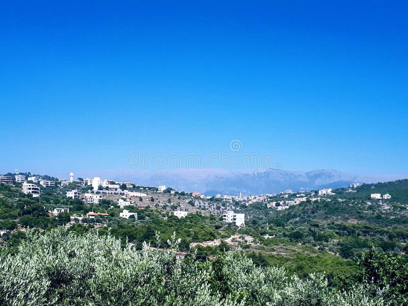 Paysage du Liban photos stock