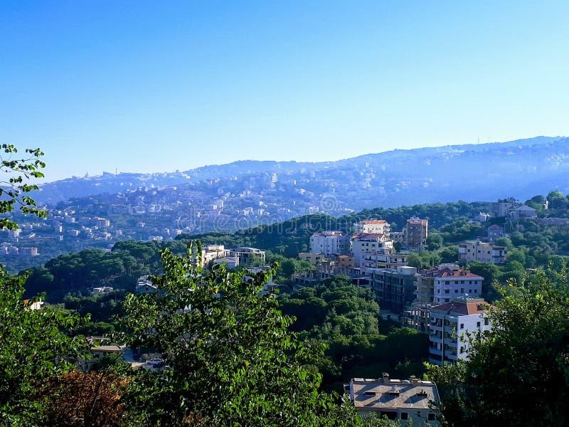Paysage du Liban photographie stock libre de droits