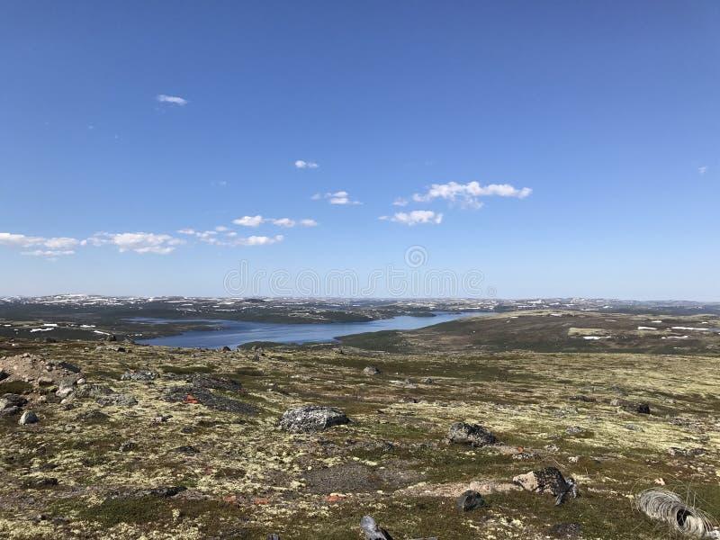 Paysage du nord images libres de droits