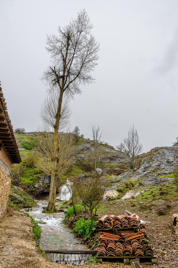Paysage du nord de Palencia photos stock