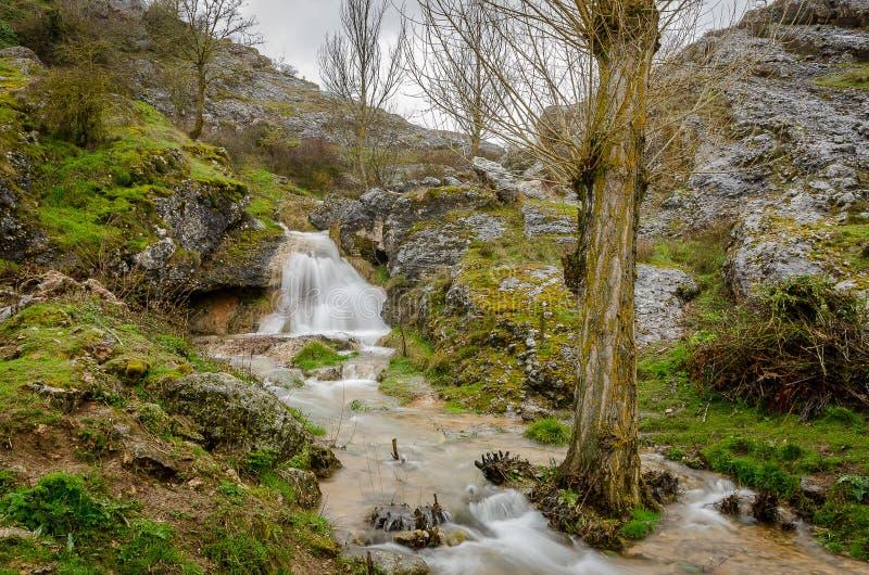 Paysage du nord de Palencia image stock