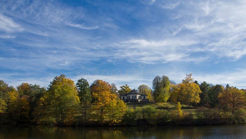 Paysage en automne photo stock