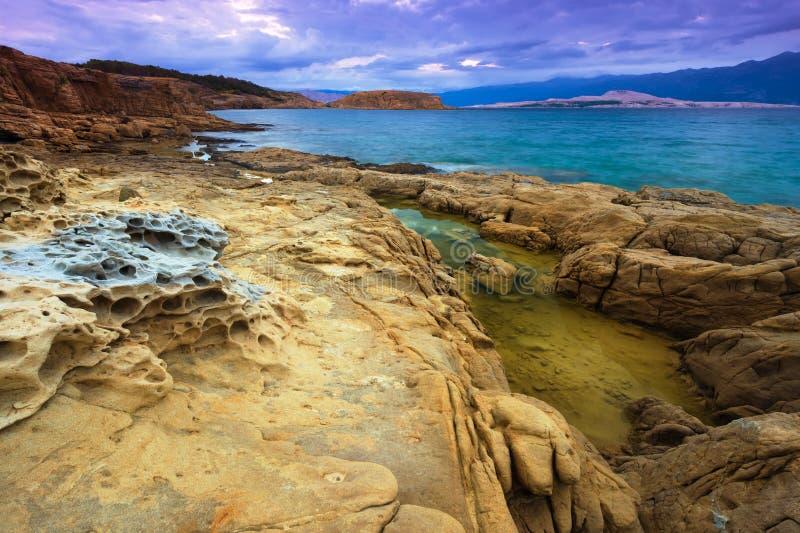 Paysage en Croatie photographie stock libre de droits