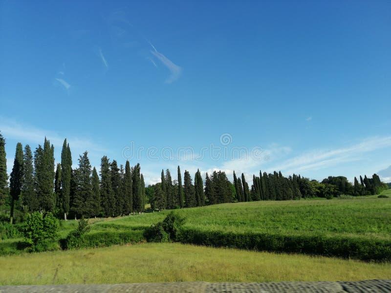 Paysage en Italie photo stock