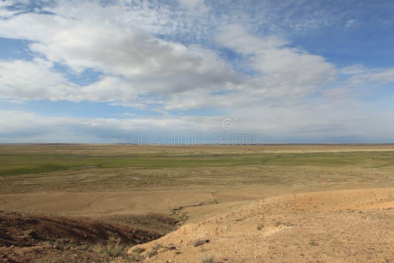 Paysage en Mongolie images libres de droits
