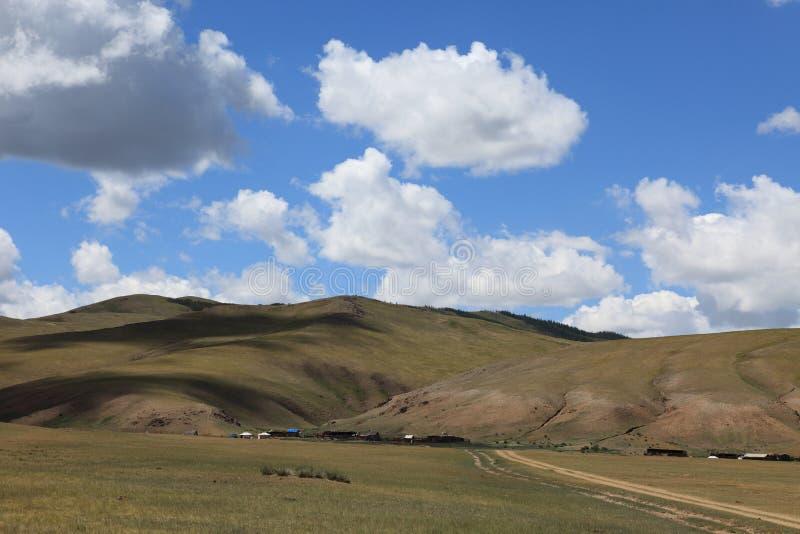 Paysage en Mongolie photos stock