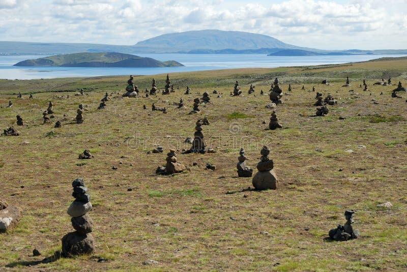 Paysage en parc national de Thingvellir en Islande photographie stock libre de droits