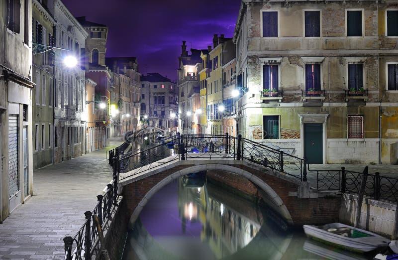 Paysage excessif de Venise images libres de droits