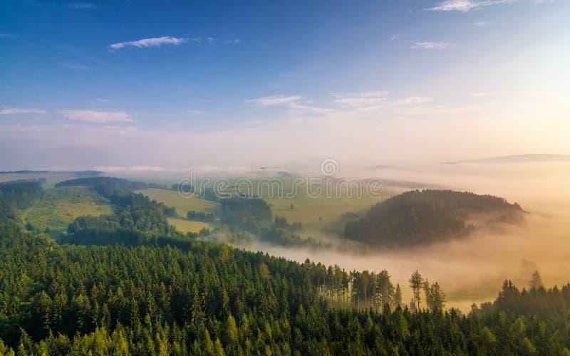 Paysage flou dans Adrspach photographie stock