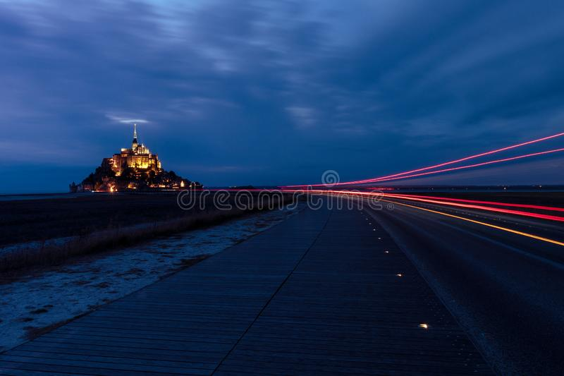 Paysage français - Normandie images libres de droits