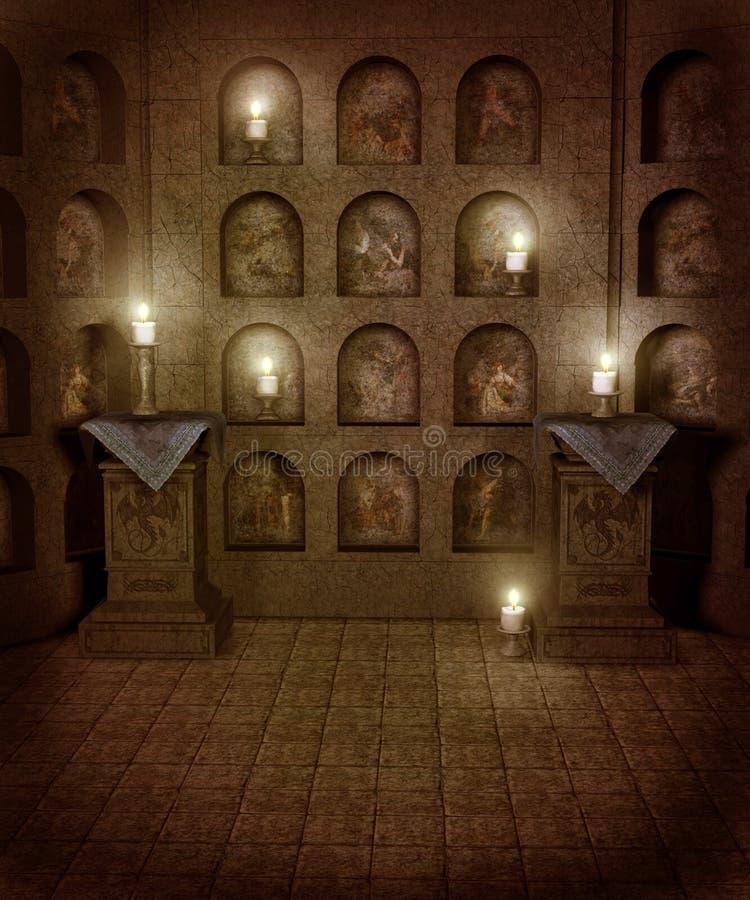 Paysage gothique 39 illustration de vecteur