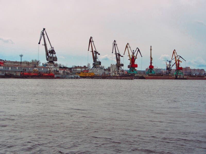 Paysage industriel en Russie photo stock