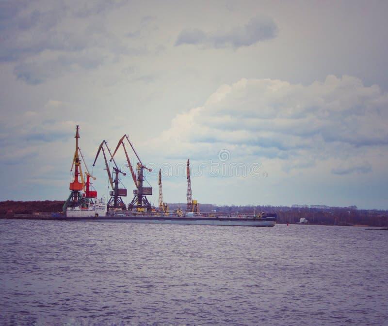 Paysage industriel en Russie photo libre de droits