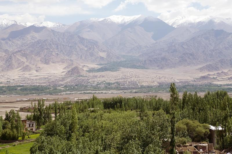 Paysage, Ladakh, Inde photos stock