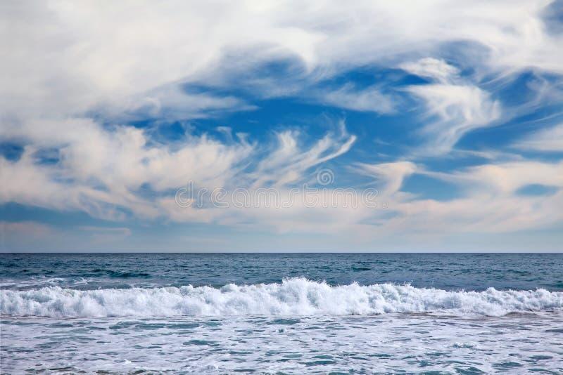 Paysage marin à Vina del Mar photo stock