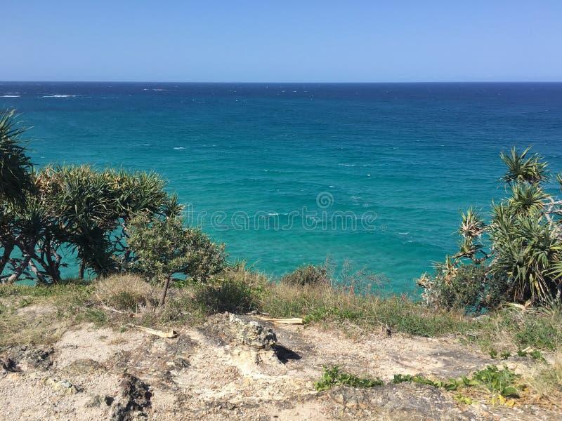 Paysage marin australien d'île photos stock