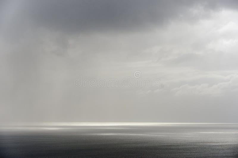 Paysage marin calme photographie stock libre de droits