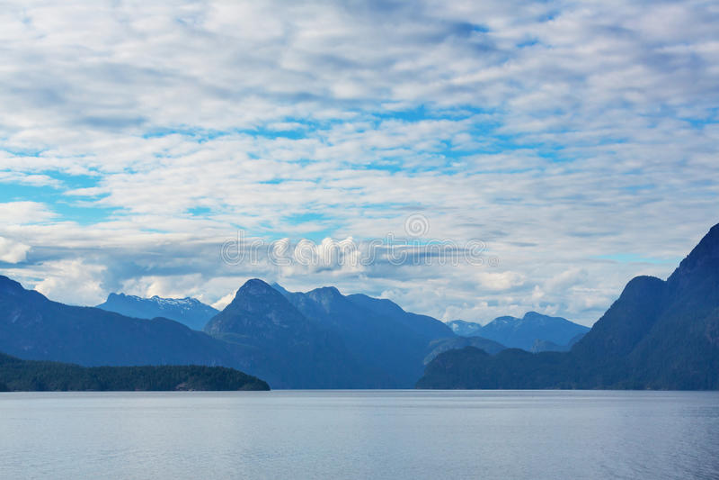 Paysage marin canadien photos stock