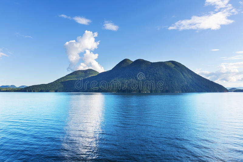 Paysage marin canadien images stock