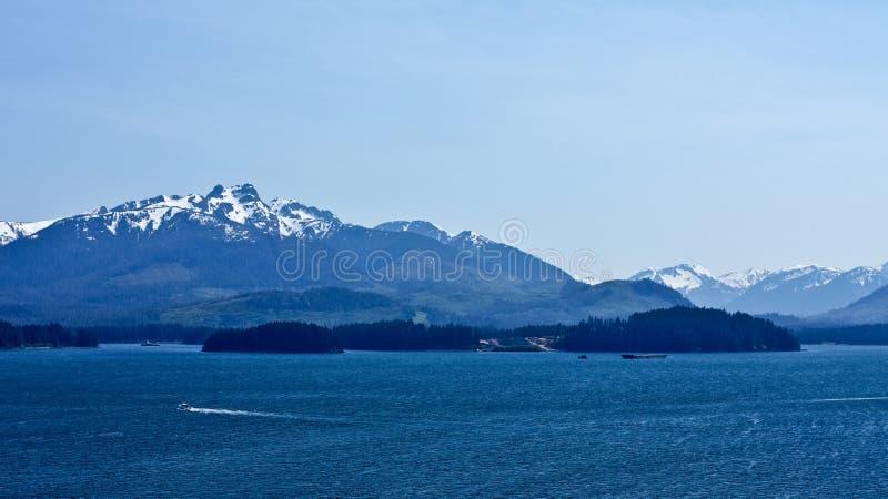 Paysage marin d'Alaska photos libres de droits