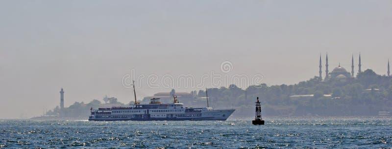 paysage marin d'Istanbul image libre de droits