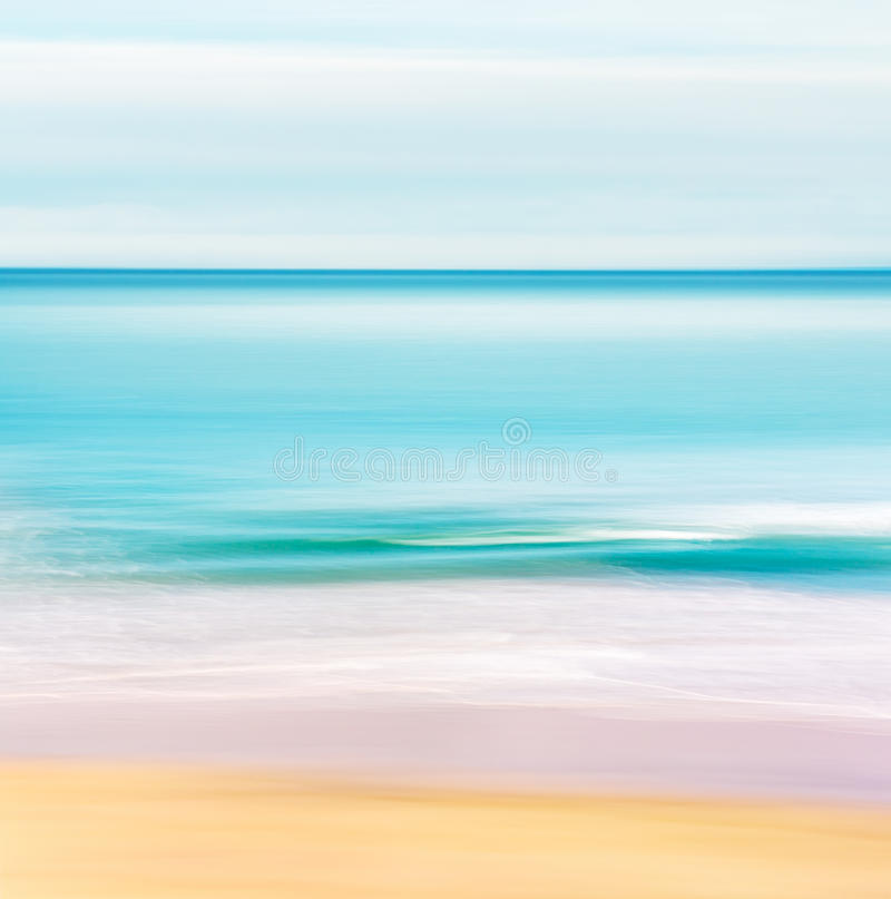 Paysage marin tropical d'océan images stock